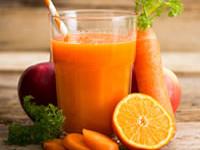 Receta de zumo de zanahoria détox