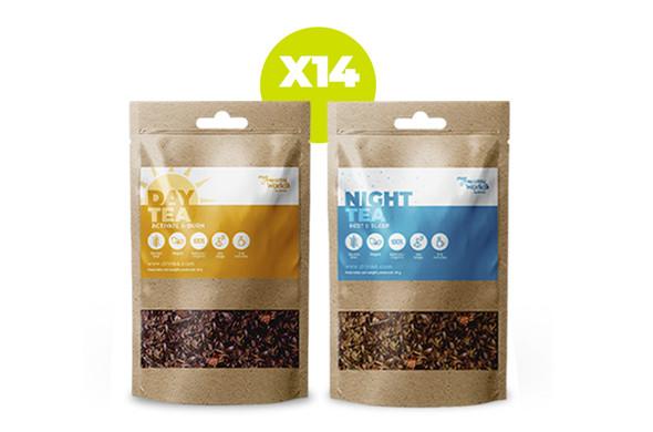 Teatox DAY + NIGHT (14 días) }}